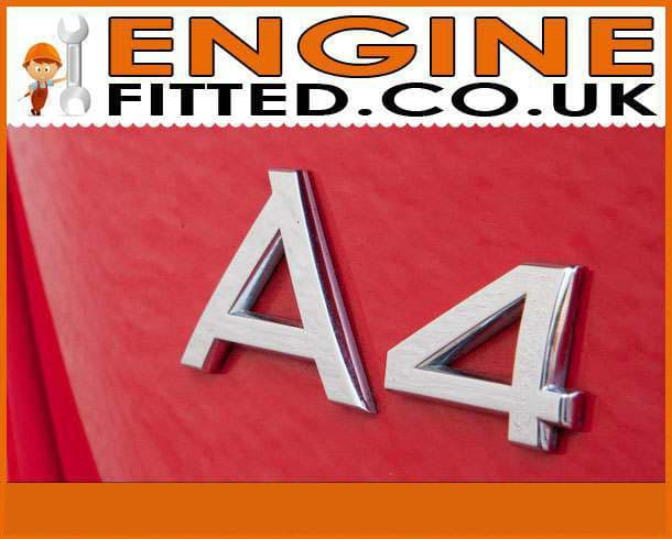 Audi A4 Diesel Engines supplied and fitted